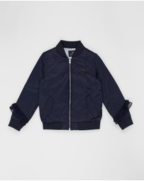Scotch Shrunk - Twill Bomber Jacket - Teens