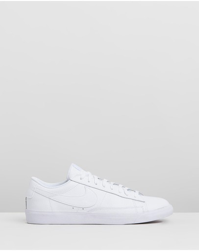 Nike - Blazer Low Leather Basketball Shoes - Men's
