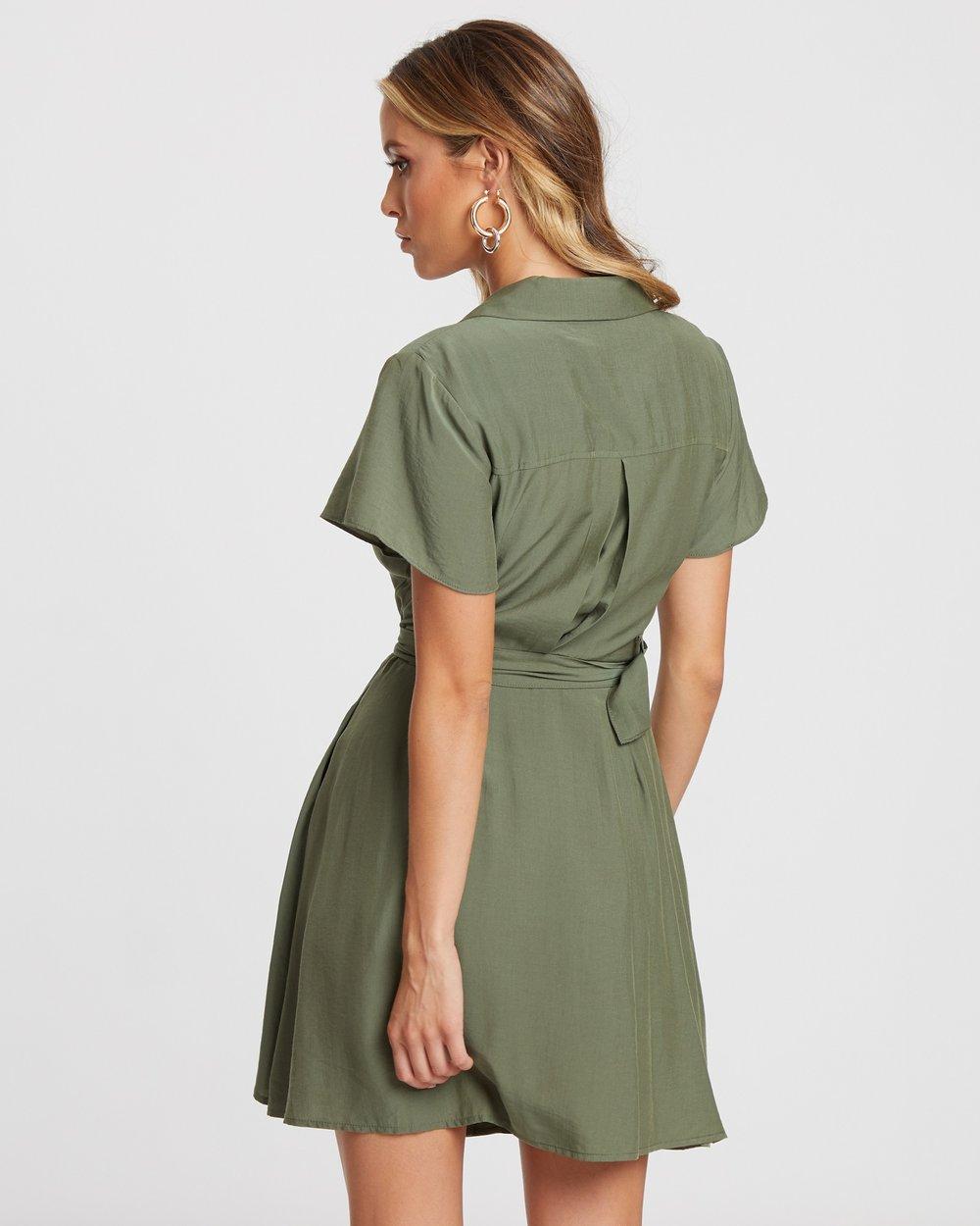 7fe71484642 Safari Shirt Dress by Atmos Here Online