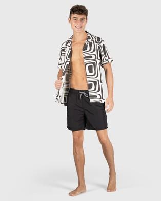 Coast Clothing – ASR Swim Shorts – Shorts (Black)