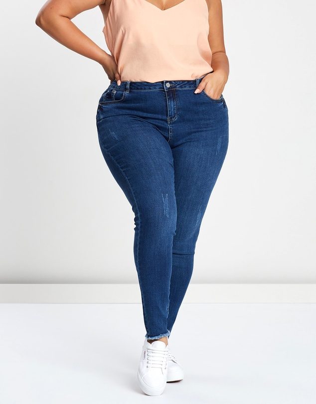 Missguided Curve - Sinner High-Waisted Jeans