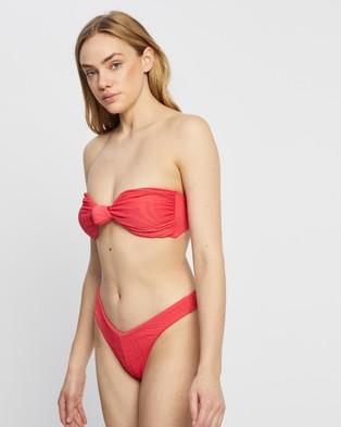 Fella Swim Hunter Bikini Top - Bikini Tops (Coral)