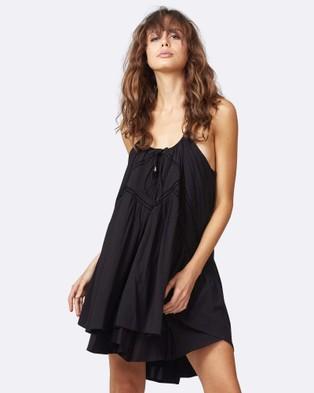 Three of Something – Cheshire Cat Dress BLACK