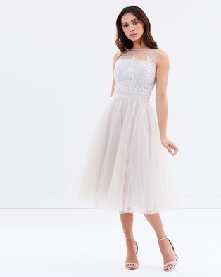 Buy Chi Chi London - Cynthia Dress - Bridesmaid Dresses Grey -  shop Chi Chi London dresses online