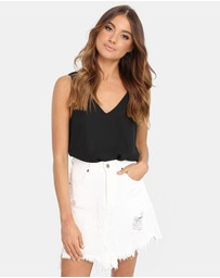 Madison The Label - Jaymee Denim Skirt