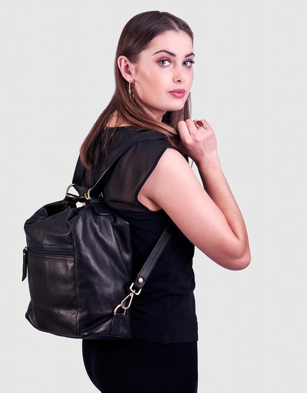 Women The Elliot Black Bag