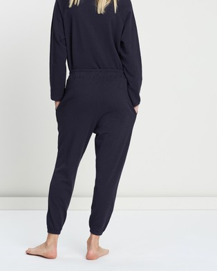 Assembly Label THE ICONIC EXCLUSIVE   Logo Lounge Pants - Sleepwear (Worn Navy)