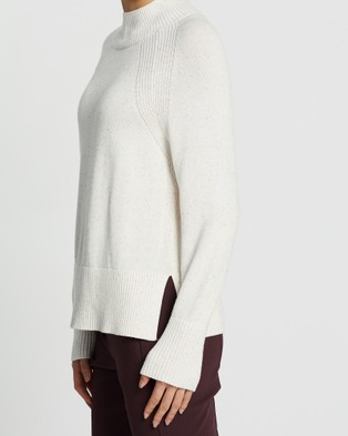Marcs - Relax Speckle Knit - Jumpers & Cardigans (IVORY MULT) Relax Speckle Knit