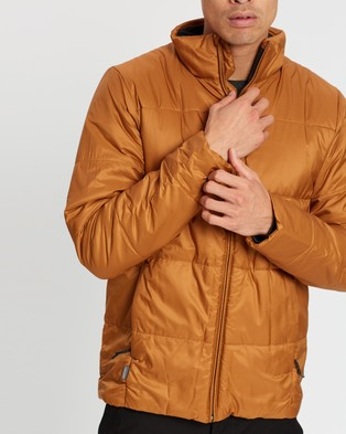 Icebreaker Collingwood Jacket   Men's - Coats & Jackets (Tawny)