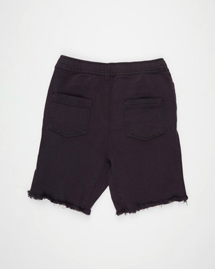 Free by Cotton On Street Slouch Shorts   Teens - Denim (After Dark)