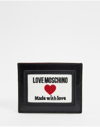 LOVE MOSCHINO - Canvas PU Wallet