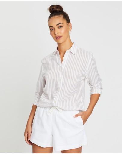 Nude Lucy Classic Shirt Stripe