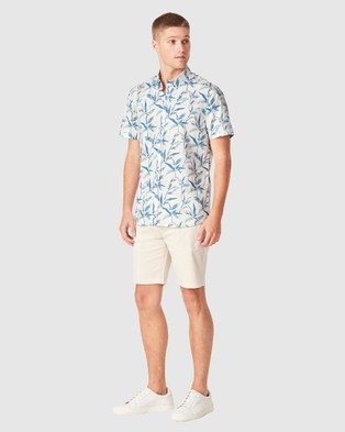 French Connection Summer Tropics Regular Fit Shirt - Casual shirts (WHITE)