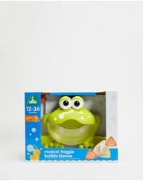 Early Learning Centre - Musical Froggie Bubble Blower - Babies