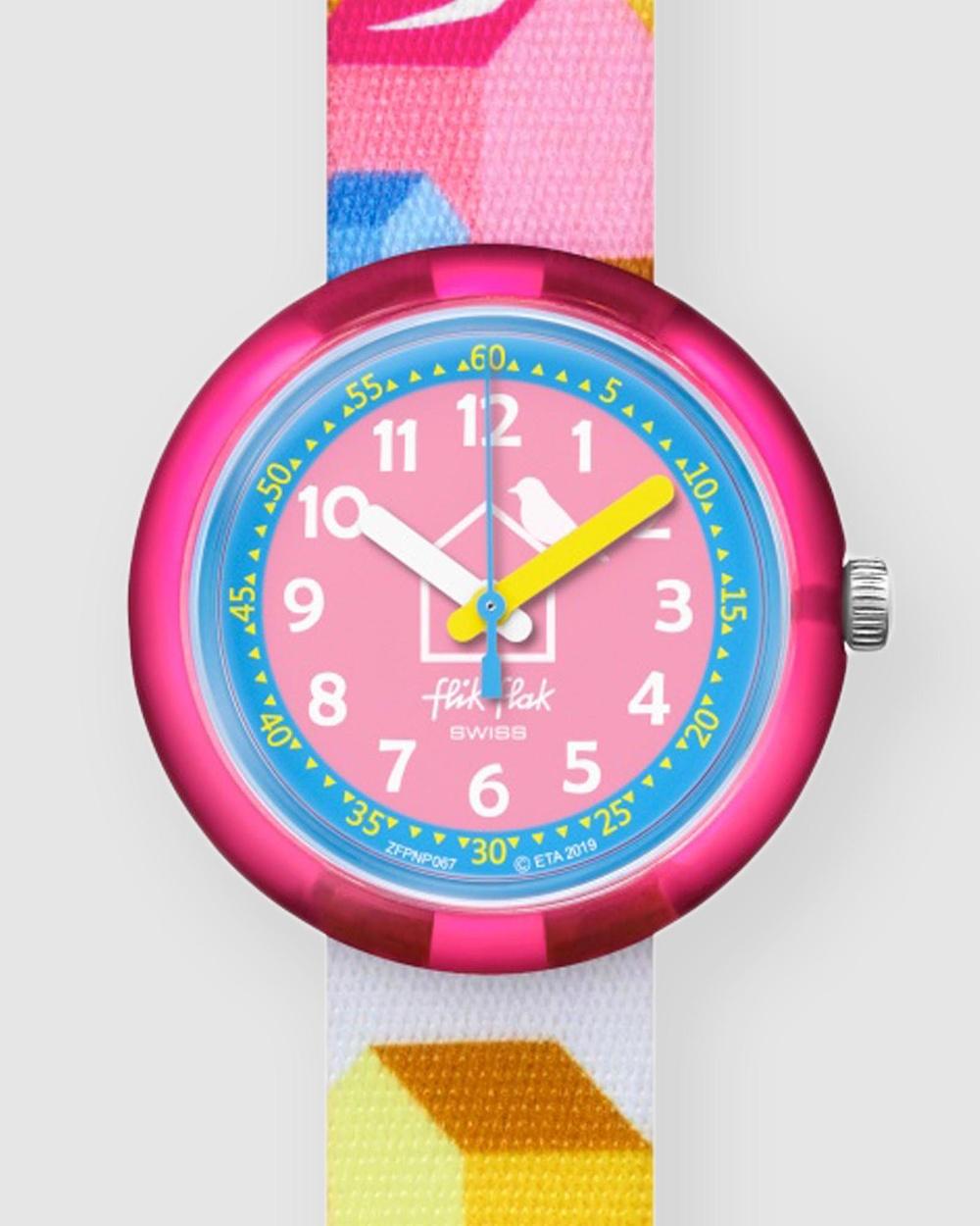 Flik Flak CASITAS Watches Pink
