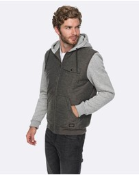 Quiksilver - Mens Kasslow Hooded Jacket
