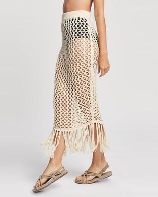 Tigerlily Palais Skirt - Swimwear (Bone)