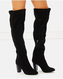 Atmos&Here - ICONIC EXCLUSIVE - Brent Over Knee Boots