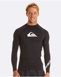 Quiksilver - Mens All Time Long Sleeve Rash Vest
