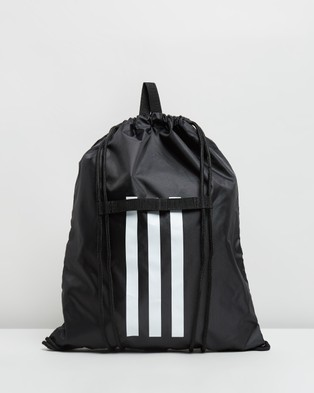 adidas Performance - 4ATHLTS Gym Bag - Backpacks (Black & White) 4ATHLTS Gym Bag