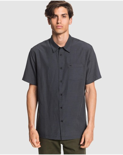Quiksilver - Mens Waterman Centinela Short Sleeve Shirt