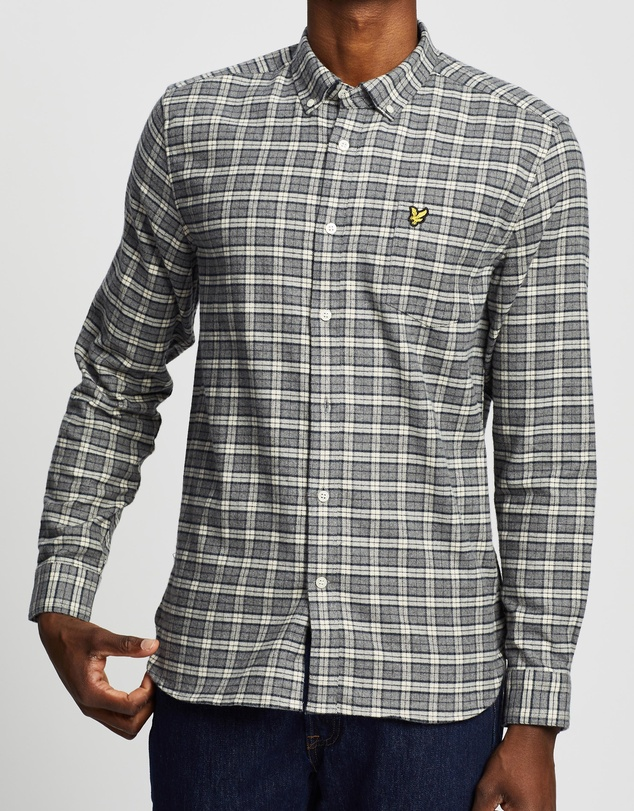Lyle and Scott - Check Flannel Shirt