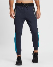 Superdry Sport - Gym Tech Colour Block Joggers