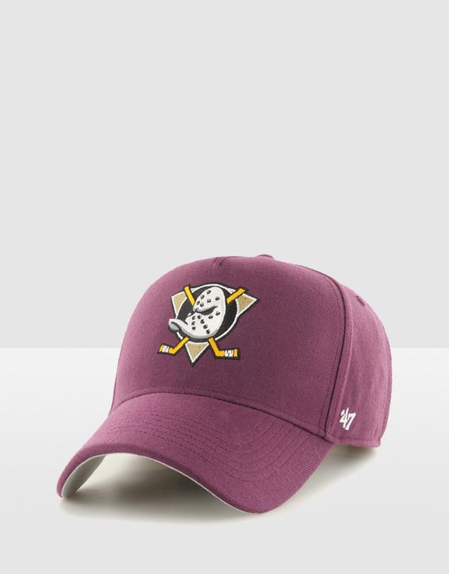Men Anaheim Ducks '47 MVP DT - PLUM
