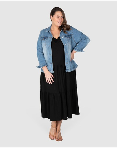 Love Your Wardrobe - Frankie Stretch Denim Jacket