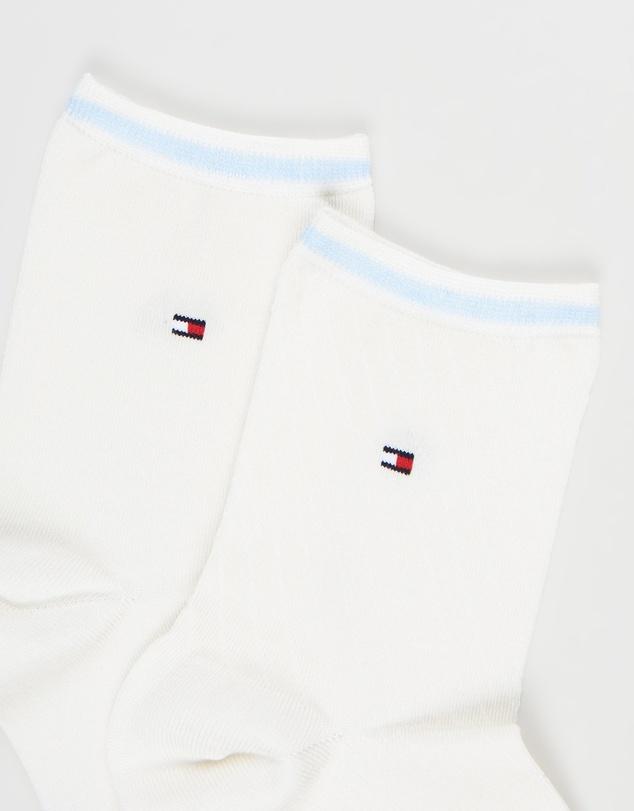 Women Bias Open Stripe Short Socks 2-Pack