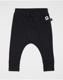 Huxbaby - Jersey Drop Crotch Pants - Kids