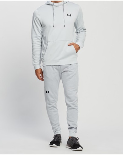 Under Armour Double Knit Joggers Halo Grey & Black