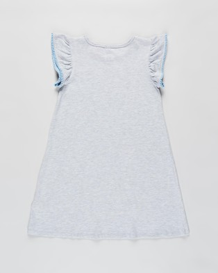 Cotton On Kids Katie Flutter SS Nightie   Kids Teens - Sleepwear (Cinderella & Summer Grey Marle)
