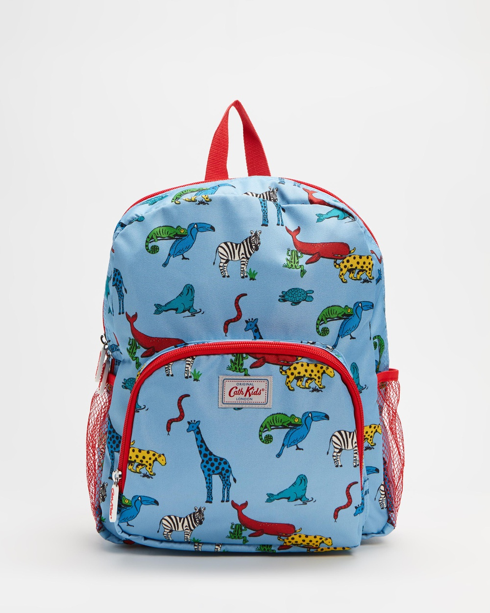 Cath Kidston Classic Large Backpack with Mesh Pocket Kids Backpacks Animals