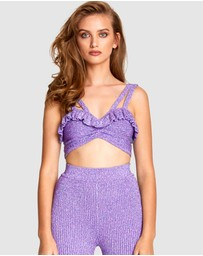 alice McCALL - Love Letters Crop Top