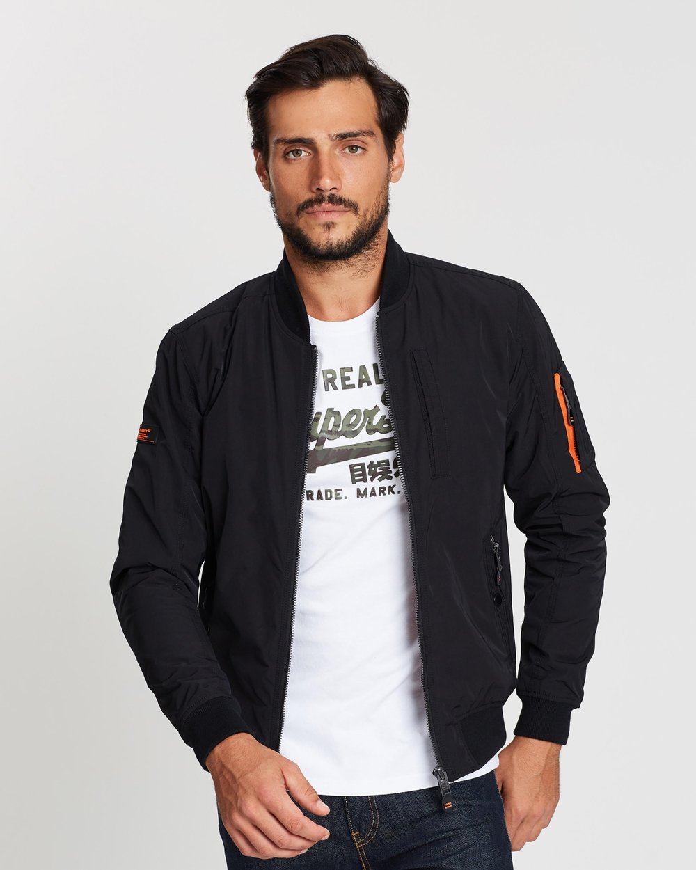 a90b9e9658c8 SDR Bomber Jacket by Superdry Online | THE ICONIC | Australia