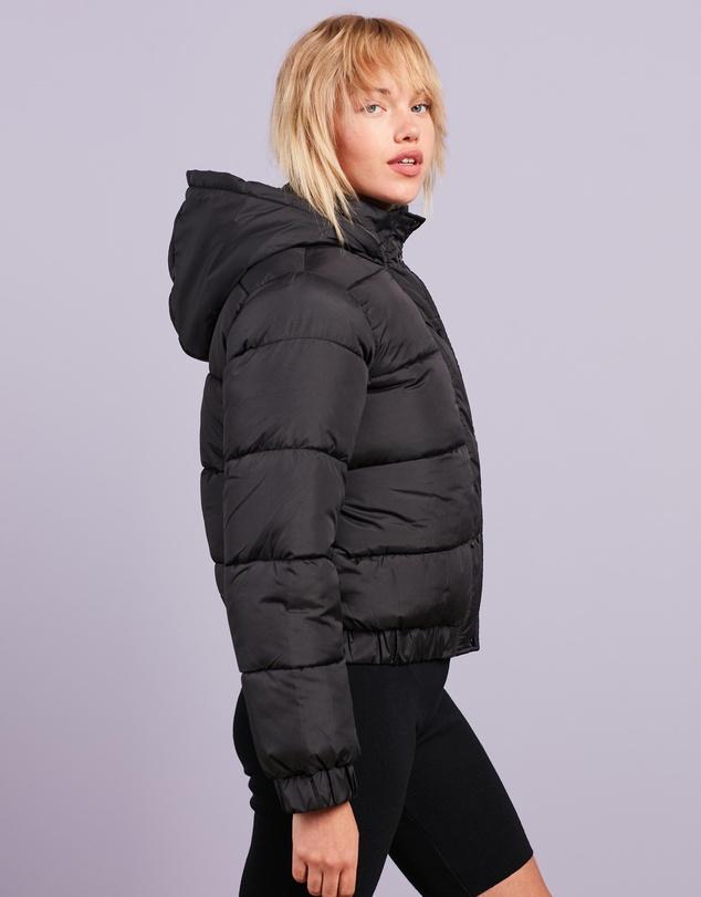 Women Hooded Puffer Jacket