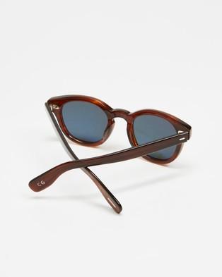 Oliver Peoples Cary Grant Sun - Sunglasses (Grant Tortoise & G-15 Polar)