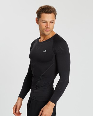 LP Support Air Compression Long Sleeve Top - all compression (Dark Grey)
