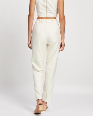 Sofia Irina Christelle Pants - Pants (Cream)