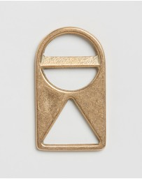 The Horse - Geometric Brass Bottle Opener