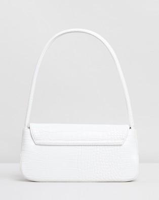 Brie Leon The Camille - Handbags (White Matte Croc)