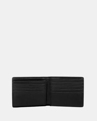 Buckle George RFID Leather Wallet - Wallets (Black)