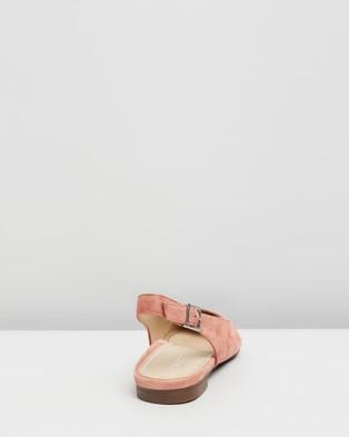 Vionic Jade Slingback Flats - Flats (Dusty Pink)