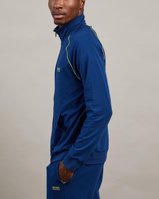 Hugo Boss Mix&Match Jacket - Sleepwear (Medium Blue)