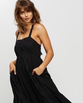 JETS Jetset Maxi Dress - Swimwear (Black)