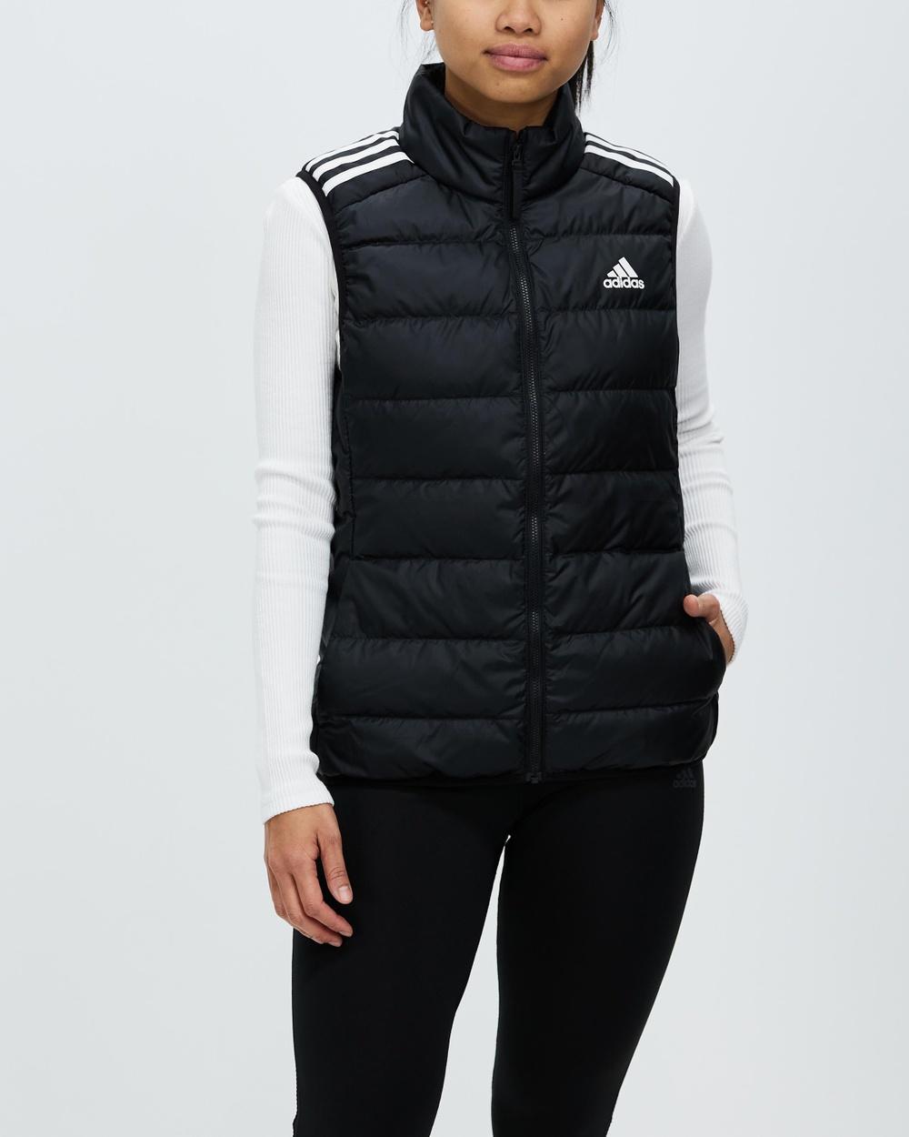 adidas Performance Essentials Light Down Vest Coats & Jackets Black