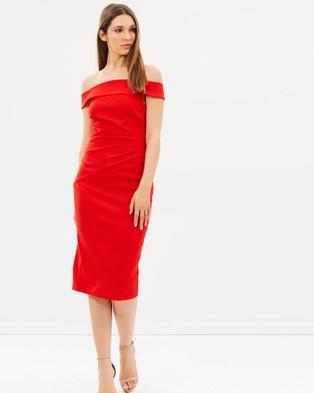 Karen Millen – Bardot Shoulder Pencil Dress