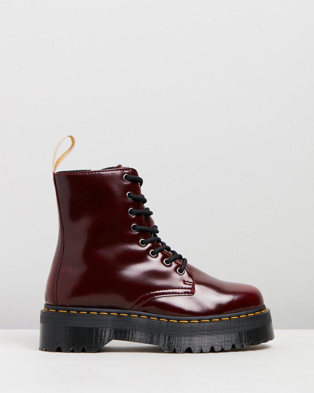 7935c5851cc1 Vegan Jadon II 8-Eye Boots by Dr Martens Online