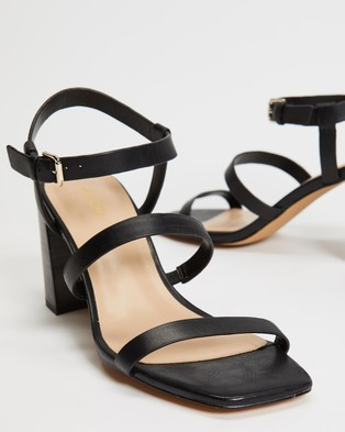 ALDO - Havana Chunky Heels - Heels (Black) Havana Chunky Heels